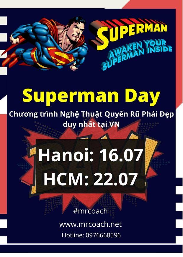 superman day chia sẻ nghệ thuật quyến rũ phái đẹp